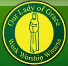 Our Lady of Grace, Bury logo